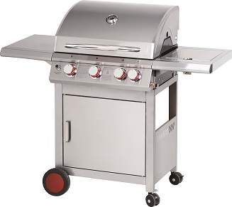 Barbecue gas top inox Ferraboli