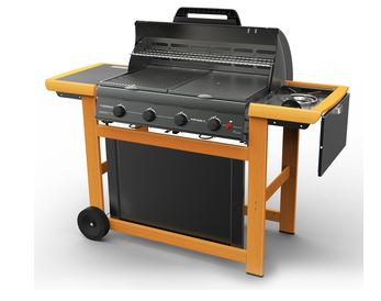 Barbecue autoportante a gas Adelaide 4 Classic L Deluxe Extra
