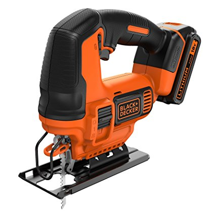 Seghetto alternativo 18V Litio BDCJS18 Black and Decker