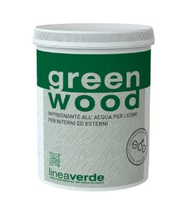 Green wood impregnante finitura all'acqua Linvea vernici per legno